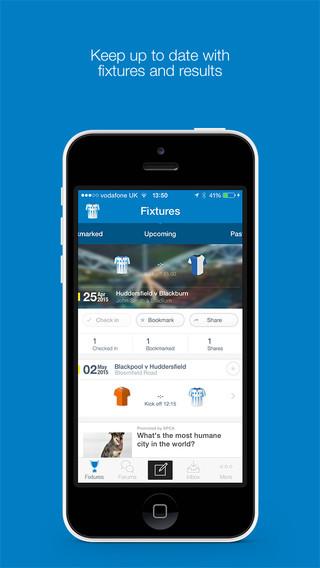 Huddersfield Town AFC Fan App