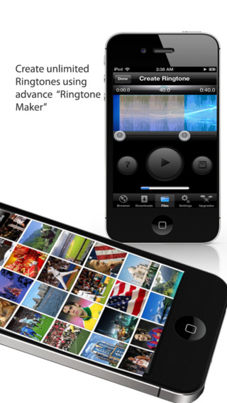 iDownloads PRO – Download Manager : iDownload mp3 music, movies, ringtones, books from web browser