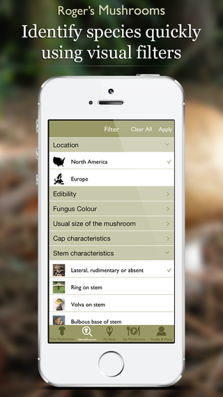 Wild Mushrooms of North America and Europe by Roger Phillips (Lite) iPhone Screenshot 2