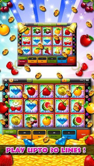 Hit it Big Golden Cherry Casino - Nostalgic 777 High Roller Slot Machine