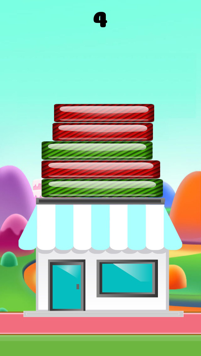 Candy Tower Puzzle-The Best Addictive Puzzle Game For Kids And Girls