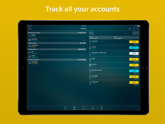 Money Pro - Bills, Budgets and Accounts w/ Sync screenshot
