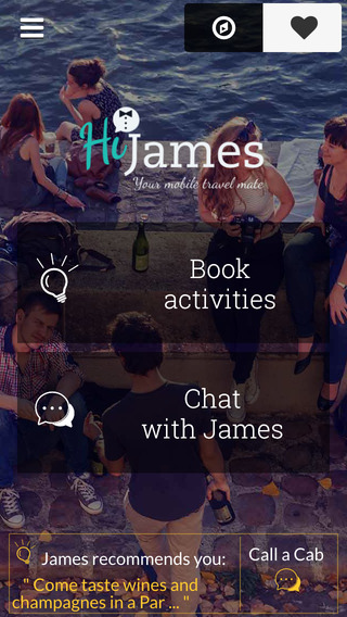 HiJames - Local Travel Planner