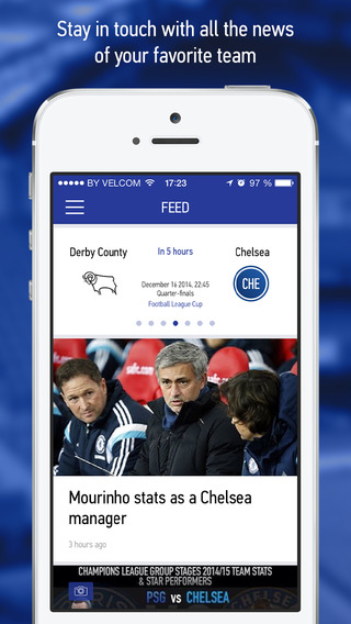 CFC Live – Live Scores Results News for Chelsea Football Fans