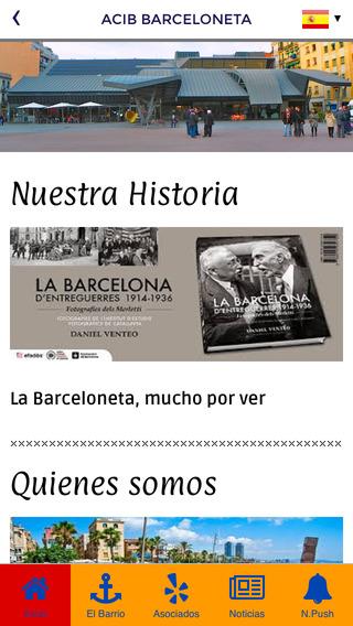 ACIB Barceloneta Agrupación de Comerciantes e Industriales de la Barceloneta