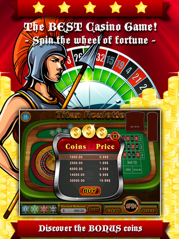 玩免費遊戲APP|下載A-Aaron Titan's Myth Roulette - Spin the slots wheel to hit the riches of pantheon casino app不用錢|硬是要APP