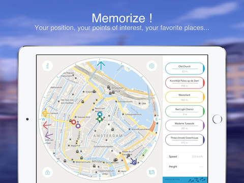 Amsterdam on Foot : Offline Map Screenshots