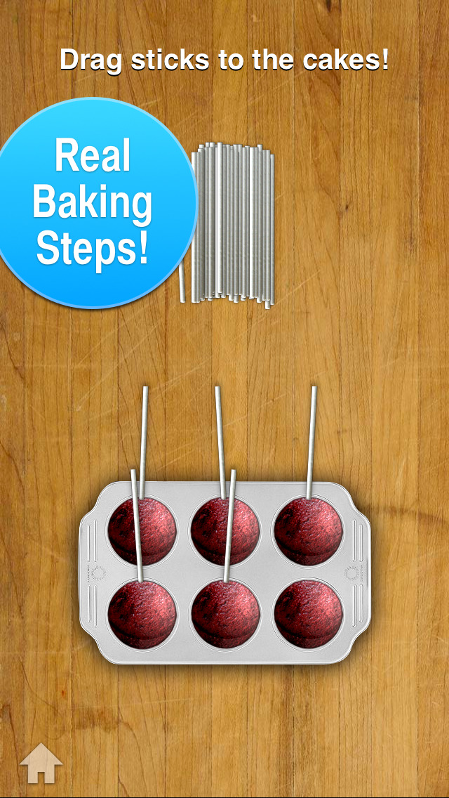 Screenshots of Cake Pop Maker for iPhone