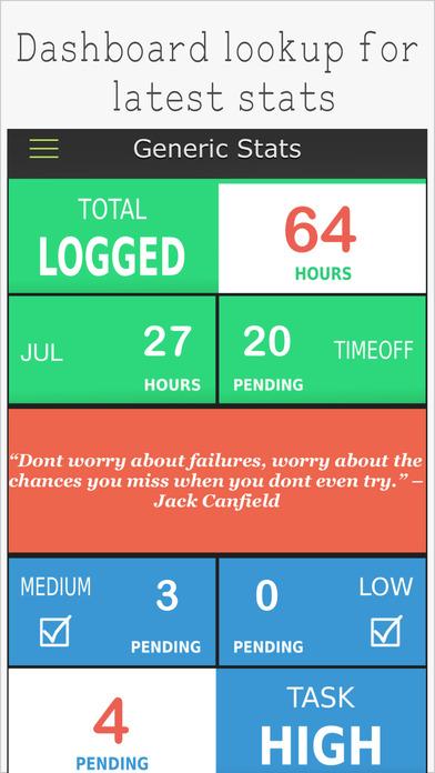 Work.JOT - Timesheet & Task List Management screenshot