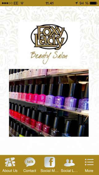 Foxy Lady Beauty Salon.