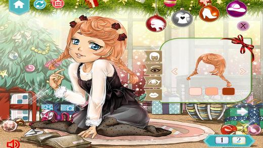Christmas Girl Dress Up