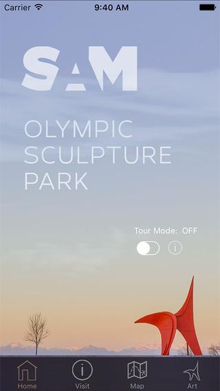 Olympic Sculpture Park Seattle WA USA