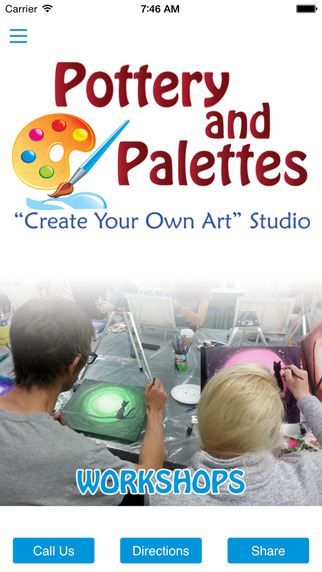 Pottery and Palettes Create Your Own Art Studio