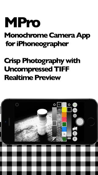 《摄像应用 - 黑白相机 MPro [iOS]》