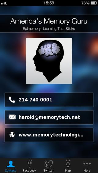 【免費商業App】America's Memory Guru-APP點子