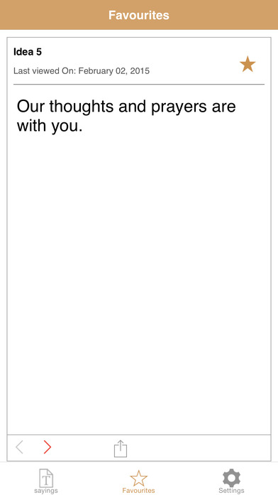 Sympathy Quotes iPhone Screenshot 4