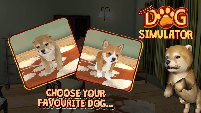 Dog Simulator 3D - Real Cute Puppy Simulation Game to Play Explore the Home