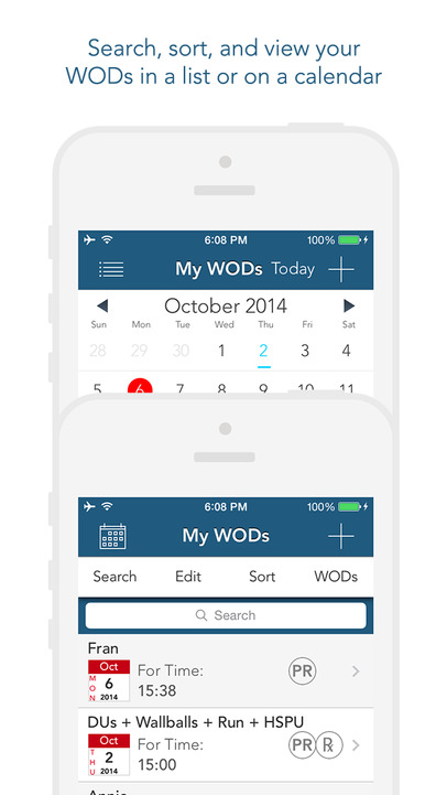 myWOD — All-in-One WOD Log for Crossfit Style Workouts - iPhone Mobile Analytics and App Store Data