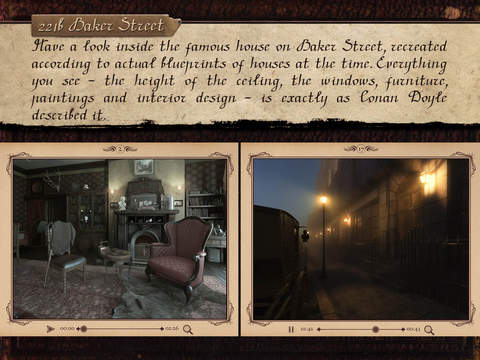 SHERLOCK: Interactive Adventure Screenshots