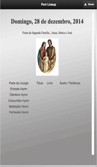Our Lady of Fatima Choirs app