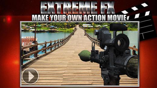 娱乐创作 – 高清电影制作 Extreme FX – 电影与现实的视觉效果使专项行动 [iOS]