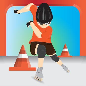 Inline Skate Fever LOGO-APP點子