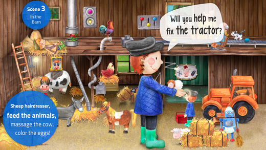Tiny Farm - Animals, Tractors and Adventures! Screenshots
