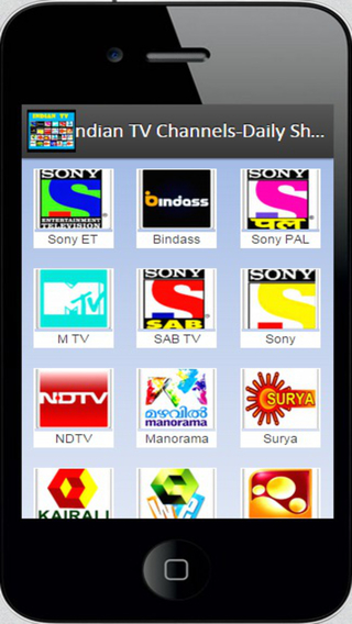 Indian TV Channels Daily Shows