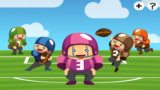 American Football Learning Game for Children: Learn for Nursery School