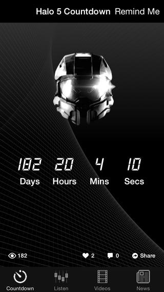 Countdown - Halo 5 Guardians edition