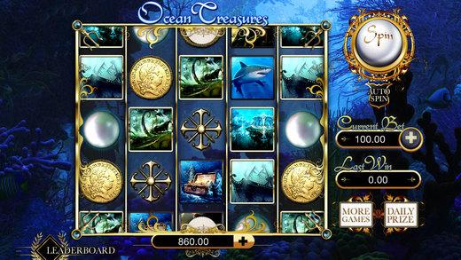 AA Aces Pirates Slots - The Treasure of the Sea Machine Gamble Game Free