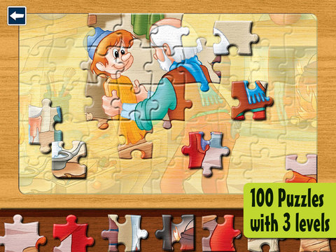 Kids Puzzles 6+: Jigsaw Puzzle School Learning Gam