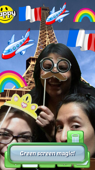 Selfie Booth – Green Screen Photo Fun