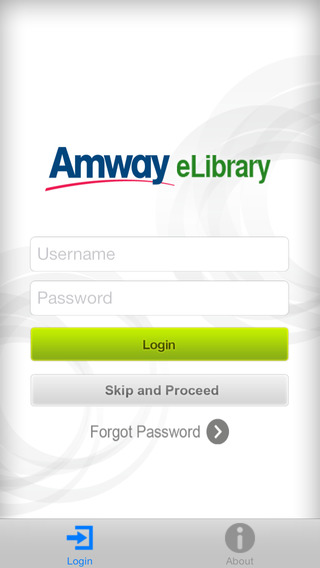 Amway eLibrary for iPhone