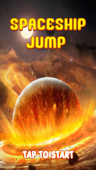 A¹ Space ship jump - The adventure of spacecraft to explore the universe