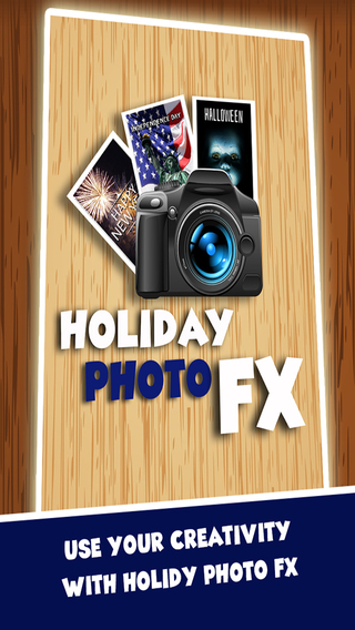 Holiday Photo FX - Christmas New Years Easter 4th of July Halloween