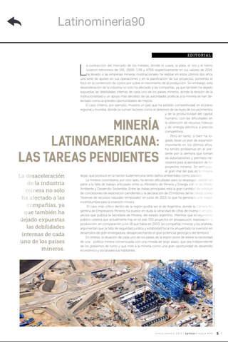 Revista Latinominería screenshot 1