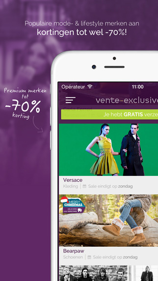 Vente-Exclusive.com deals of top brands at big discounts