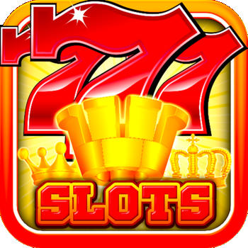 Slots Triple Fortune King Free Casino Slot Machine Palace Mania Royale City Ultimate Bonus Edition LOGO-APP點子