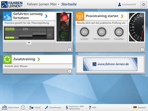 Screenshot 1 FahrenLernen