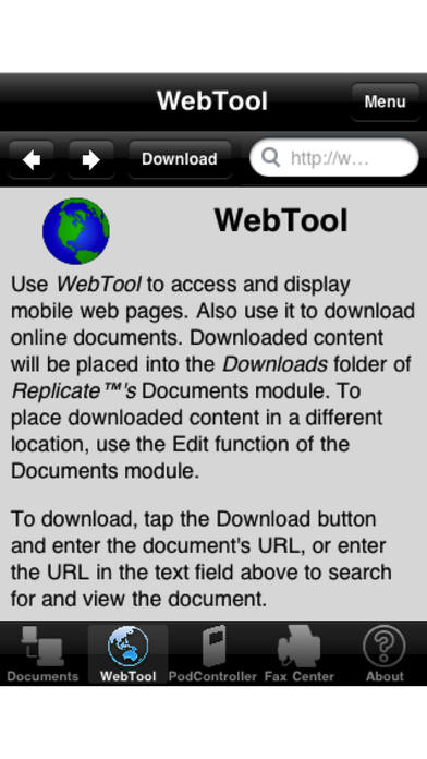 Replicate™ Pro (with P2P Screen and Document Sharing, Mobile Presentations and More) iPhone Screenshot 5