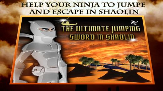 White Ninja Warrior Running Pro - The Ultimate Jumping Sword in Shaolin