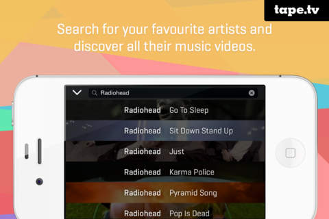 tape express – gratis Musikvideos entdecken screenshot 3