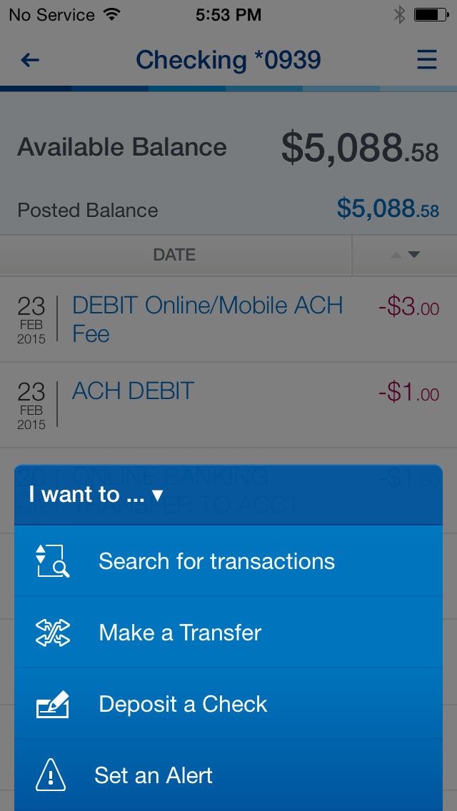 BBVA Compass Mobile Banking screenshot 3