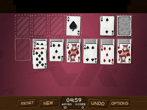 Simply Solitaire HD iPad Screenshot 2
