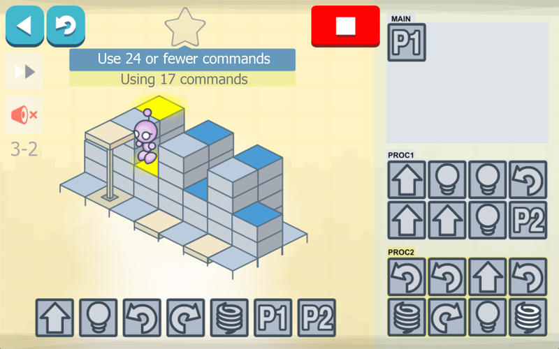 Lightbot - Programming Puzzles on the Mac App Store
