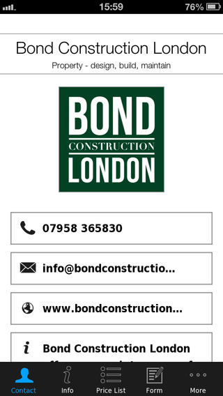 Bond Construction London
