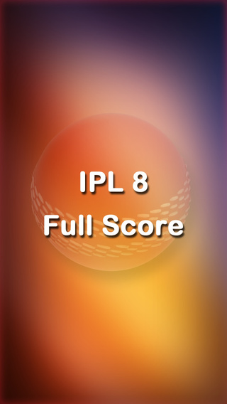IPL 8 2015 Live Full Score for Cricket IPL