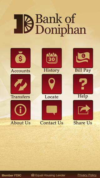 Bank of Doniphan Mobile Banking