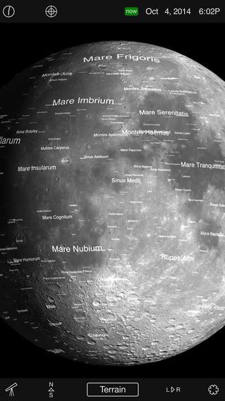 Moon Globe HD iPhone Screenshot 1